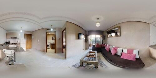 . Appartement au coeur de Gueliz