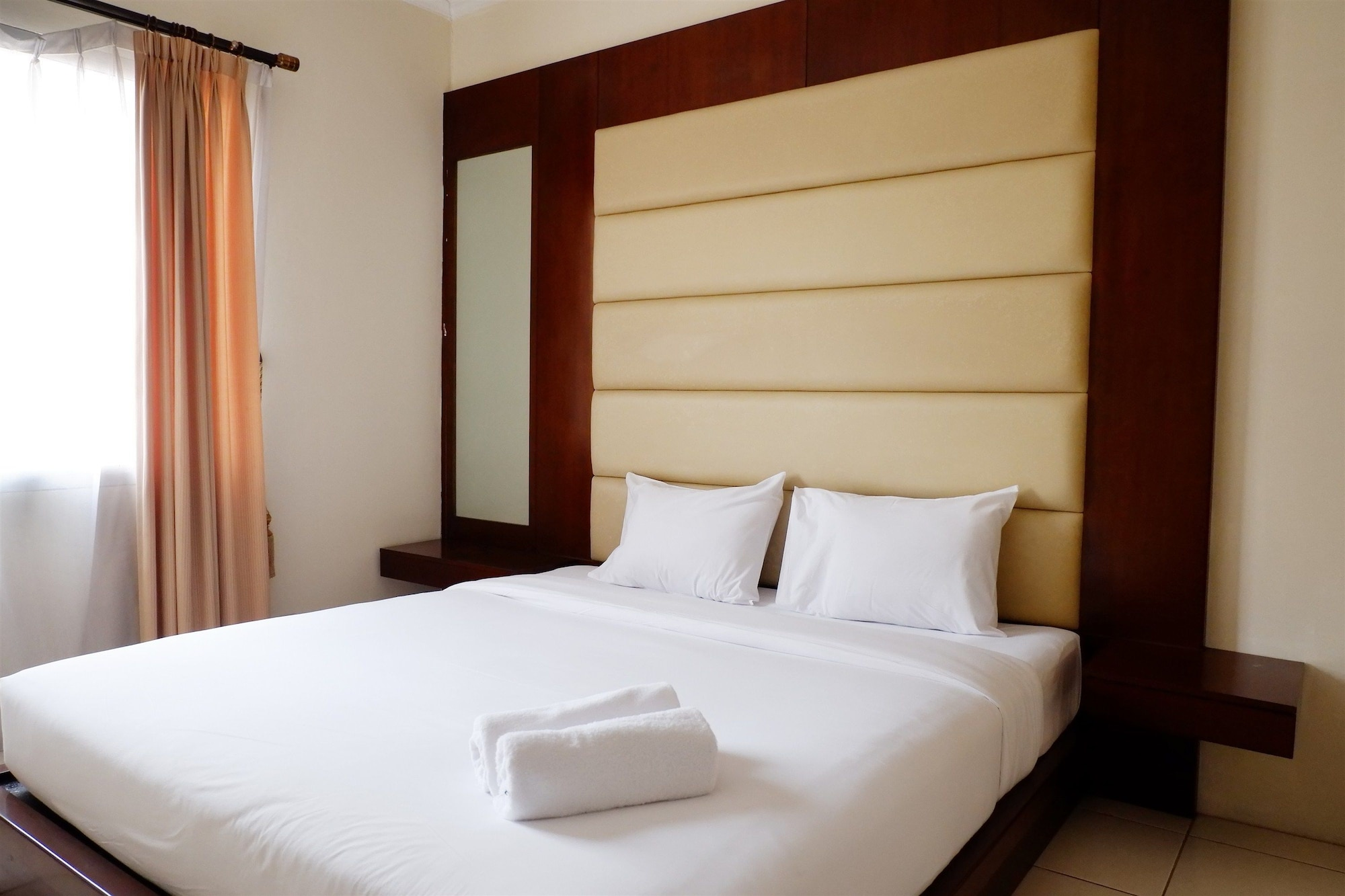 2BR Apartment with City View at Mediterania Marina Residences, Jakarta Utara