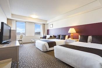 プレミアムツイン ハーバービュー 上層階|37㎡|ルークプラザホテル