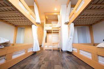 女性専用ドミトリー 6人部屋|トリップ & スリープホステル大須