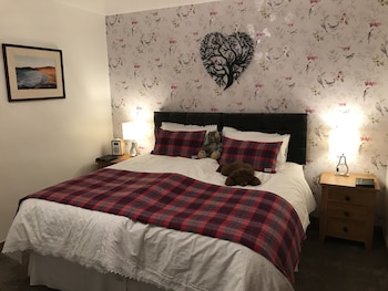 1. Machair - Double Room, Ensuite, 1 Super King Bed, Sea View
