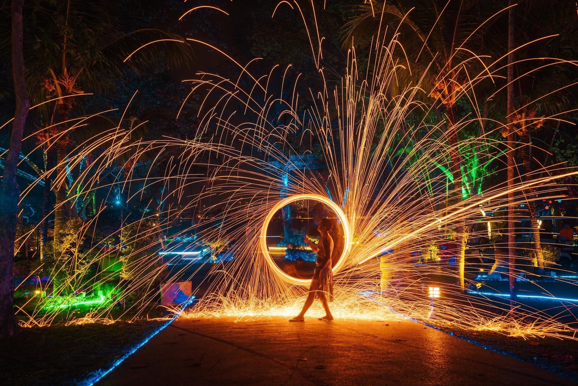 Jerejak Island Resort, Barat Daya