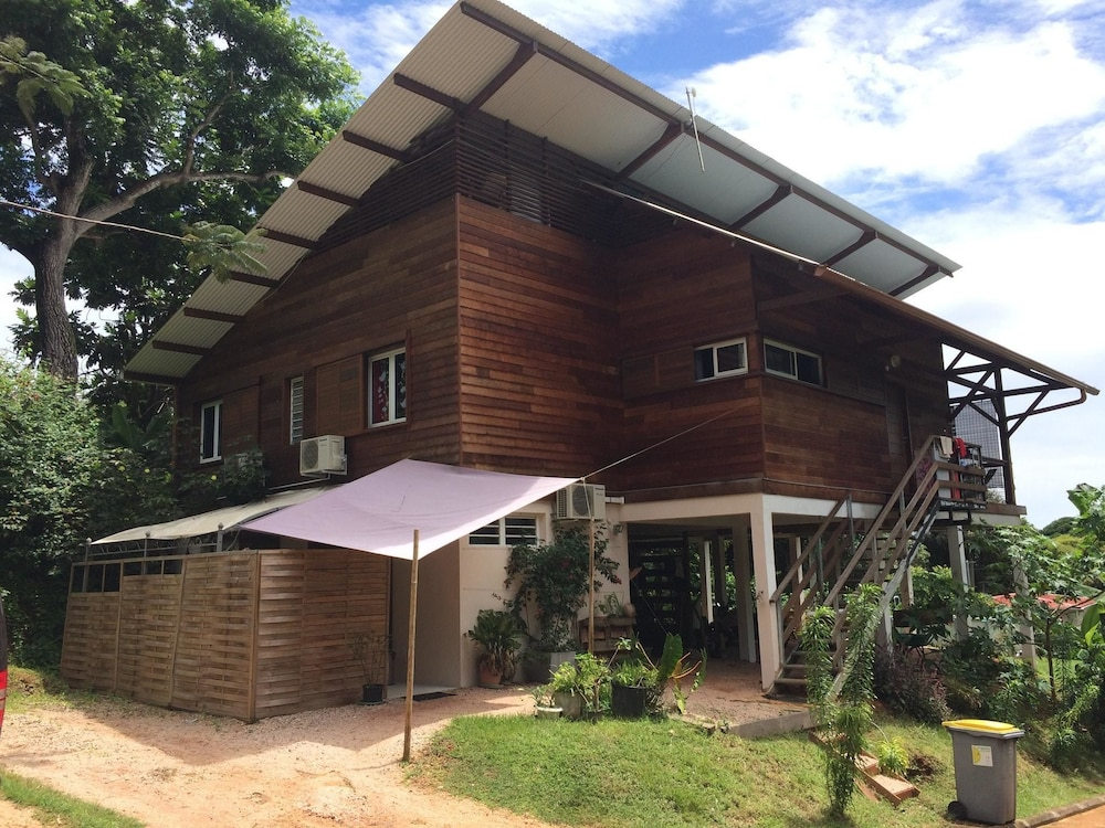 Studio in Cayenne, With Private Pool, Enclosed Garden and Wifi - 300 m From the Beach