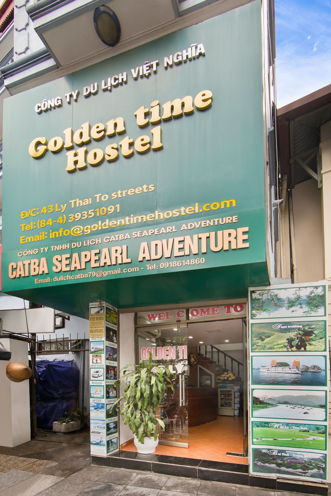Golden Time Hostel, Hoàn Kiếm