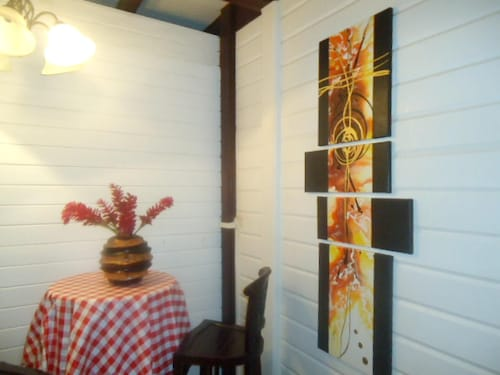 Studio in La Trinité, With Wonderful sea View, Furnished Garden and Wi, La Trinité