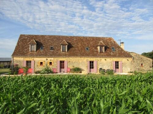 Chambres D'Hôtes La Ferme de la Croix, Dordogne