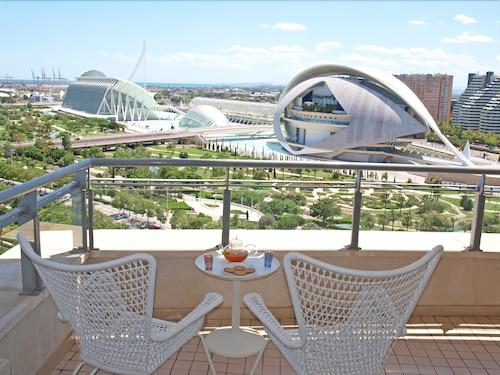 ApartUP Blue Opera View, Valencia