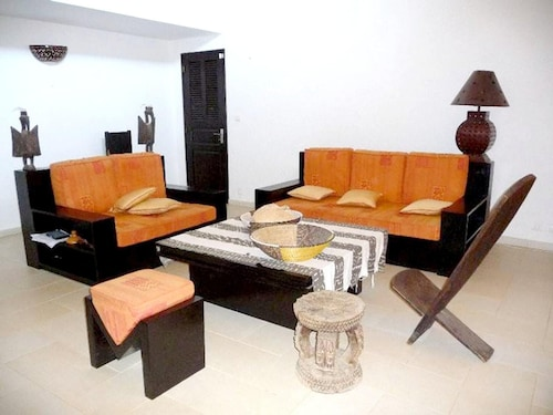 Villa With 3 Bedrooms in Nianing, With Private Pool, Enclosed Garden a, Mbour