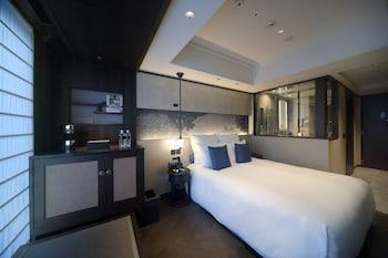 クラシック ダブルルーム ダブルベッド 1 台 (Frosted Window) 京都悠洛ホテル - M ギャラリー