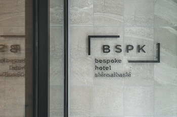 BESPOKE HOTEL SHINSAIBASHI Exterior detail