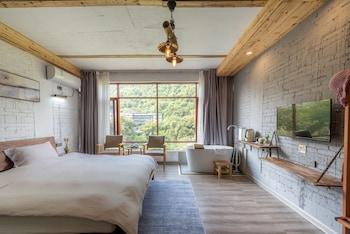 Luxury Tek Büyük Yataklı Oda, Küvet, Dağ Manzaralı