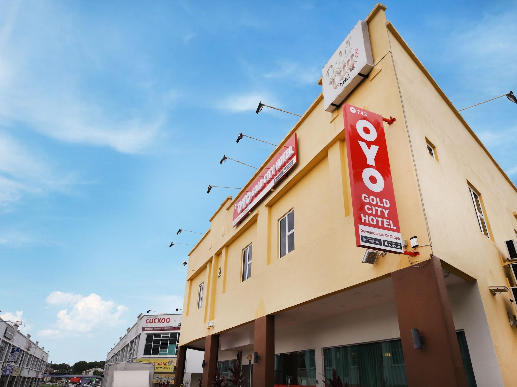OYO 743 Gold City Hotel, Kota Melaka
