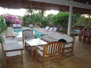 Bungalow With 2 Bedrooms in Andilana, With Wonderful sea View, Pool Ac