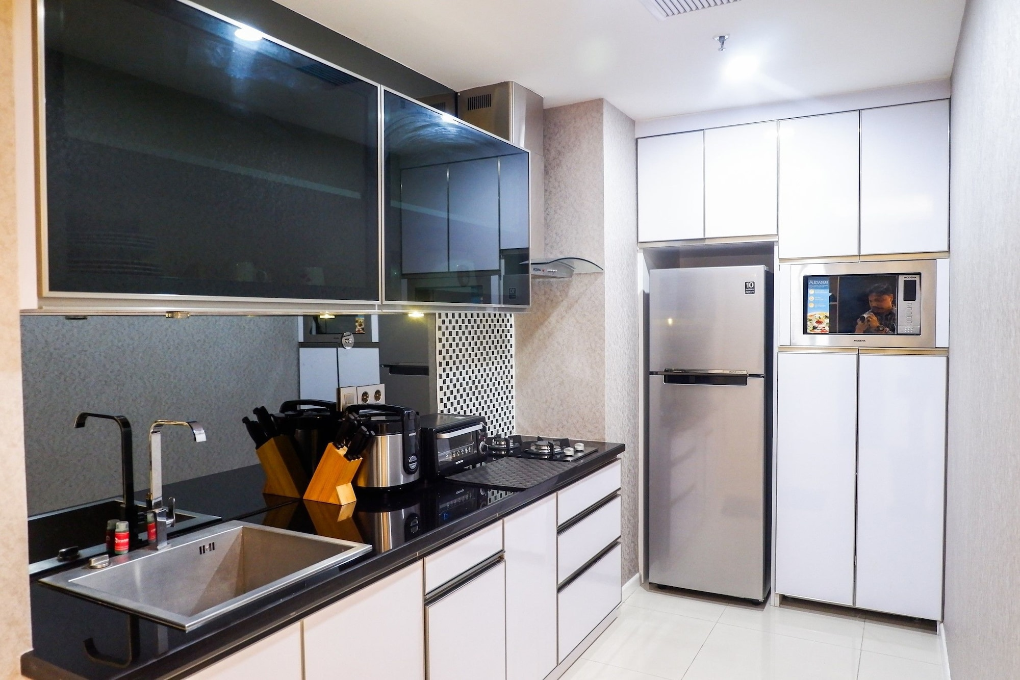 Furnished 1BR City View Casa Grande Apartment, Jakarta Selatan