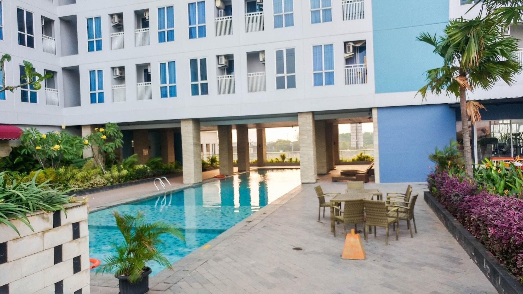 Simply Furnished Studio Apartment @ Grand Dhika City, Bekasi