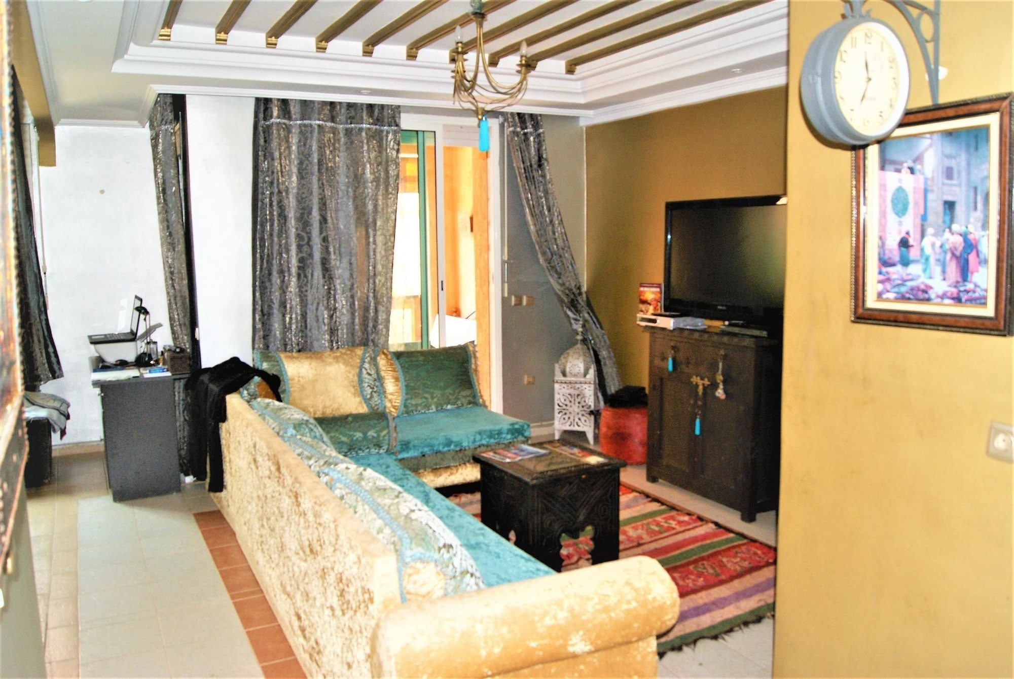 Apartment With one Bedroom in Mohammedia, With Pool Access and Enclosed Garden - 300 m From the Beach, Ben Slimane