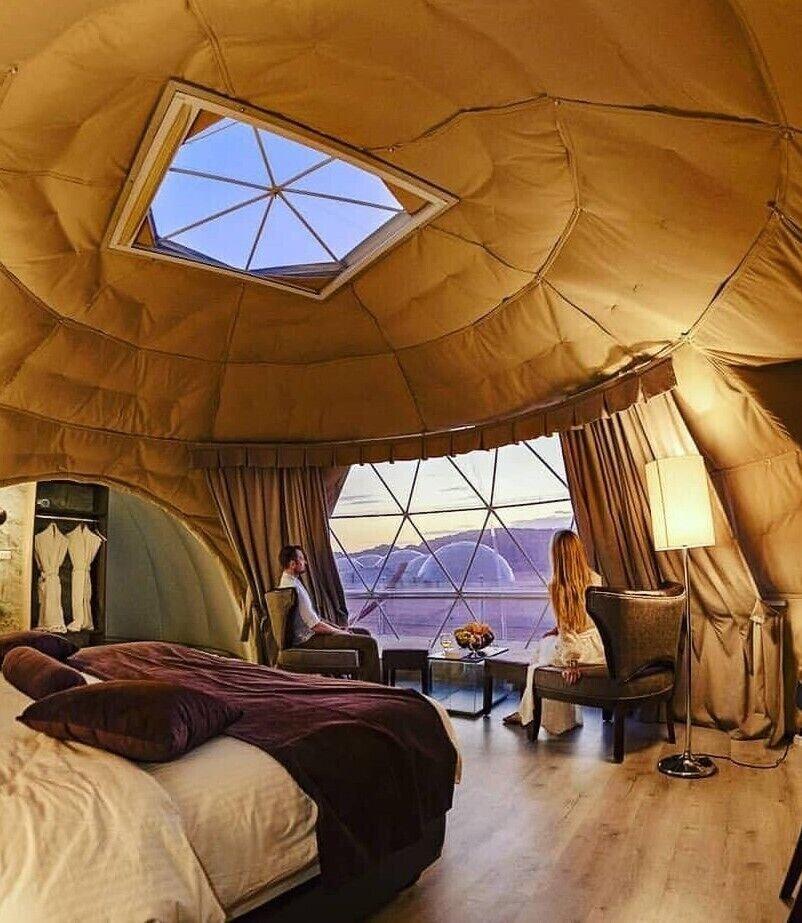Wadi Rum UFO Luxotel - Campsite, Quaira