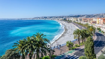 Apartment With 3 Bedrooms in Nice, With Wonderful City View, Balcony a