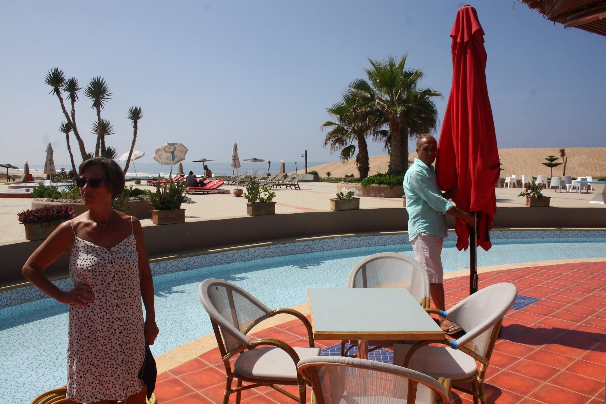 House With 4 Bedrooms in Mirleft, With Wonderful sea View, Shared Pool, Furnished Terrace - 100 m From the Beach, Tiznit