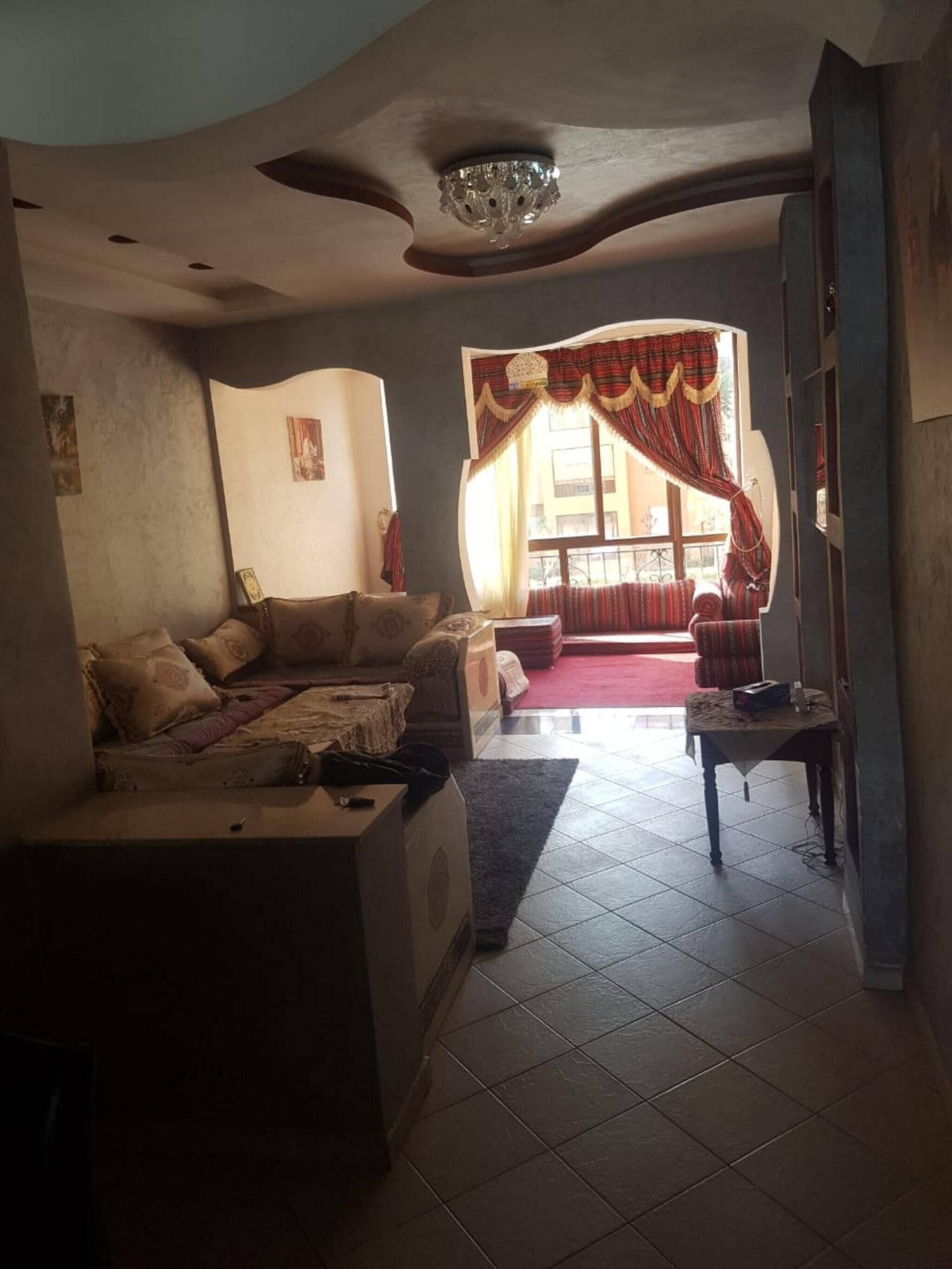 Apartment With 2 Bedrooms in Mohammédia, With Wonderful sea View, Pool Access, Furnished Garden - 200 m From the Beach, Ben Slimane