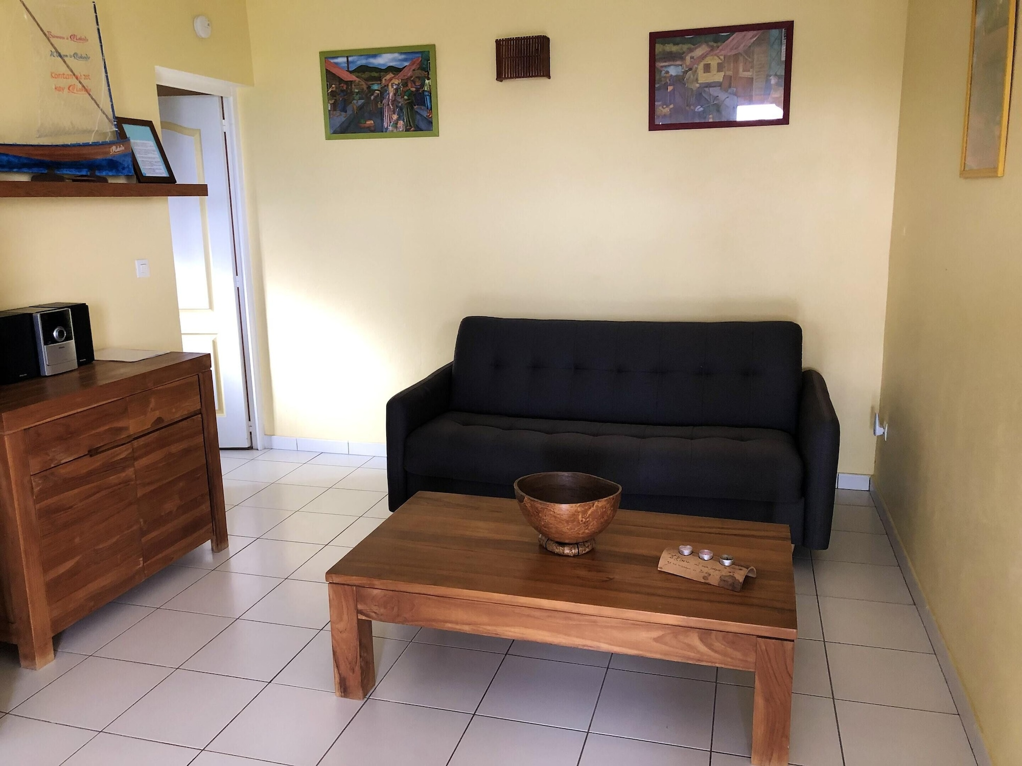 Apartment With one Bedroom in Fort-de-france, With Wonderful sea View, Enclosed Garden and Wifi - 2 km From the Beach, Fort-de-France