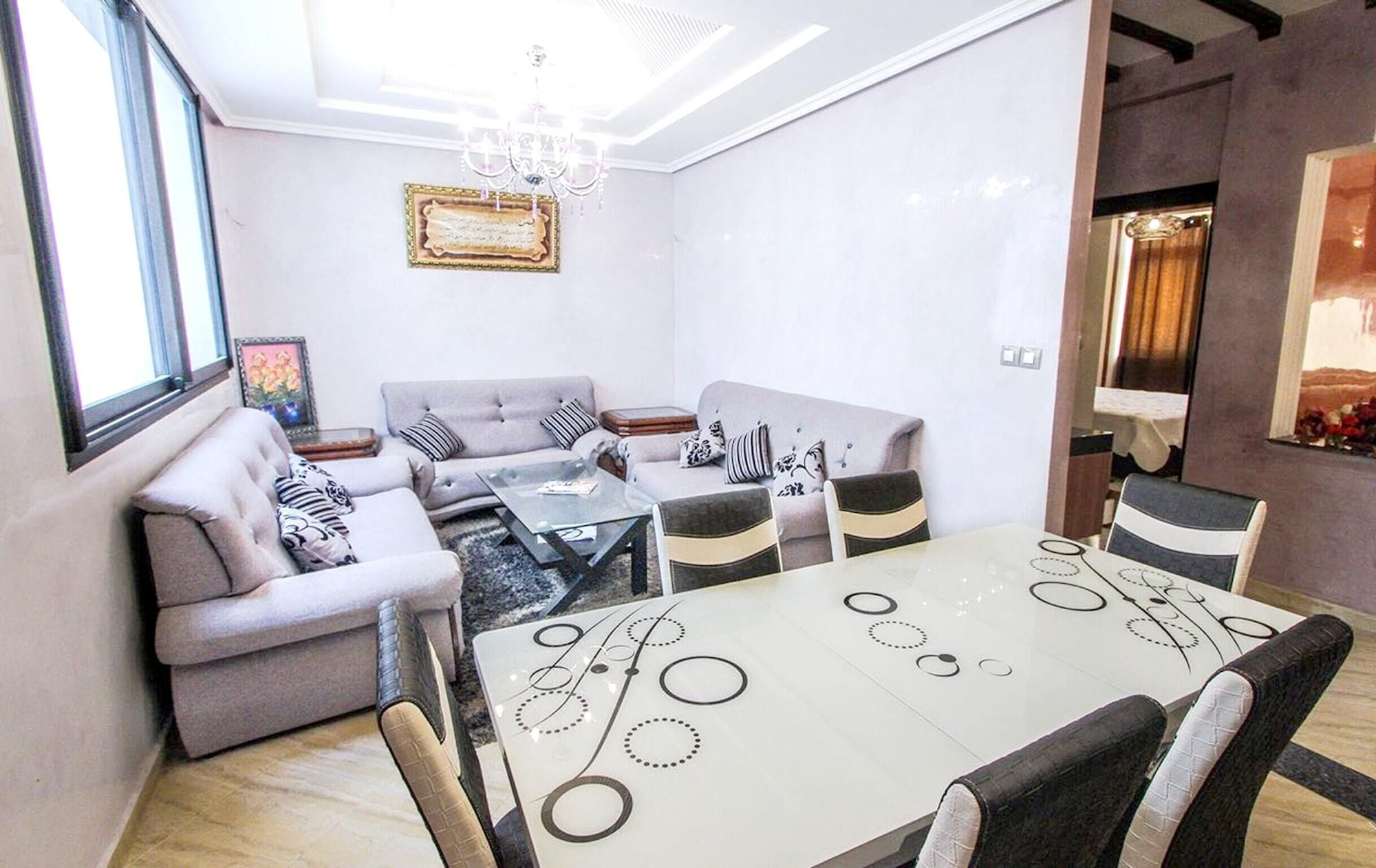 Apartment With 2 Bedrooms in Agadir, With Furnished Garden and Wifi - 6 km From the Beach, Inezgane-Aït Melloul