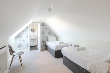 Basic Double or Twin Room, 2 Twin Beds, City View