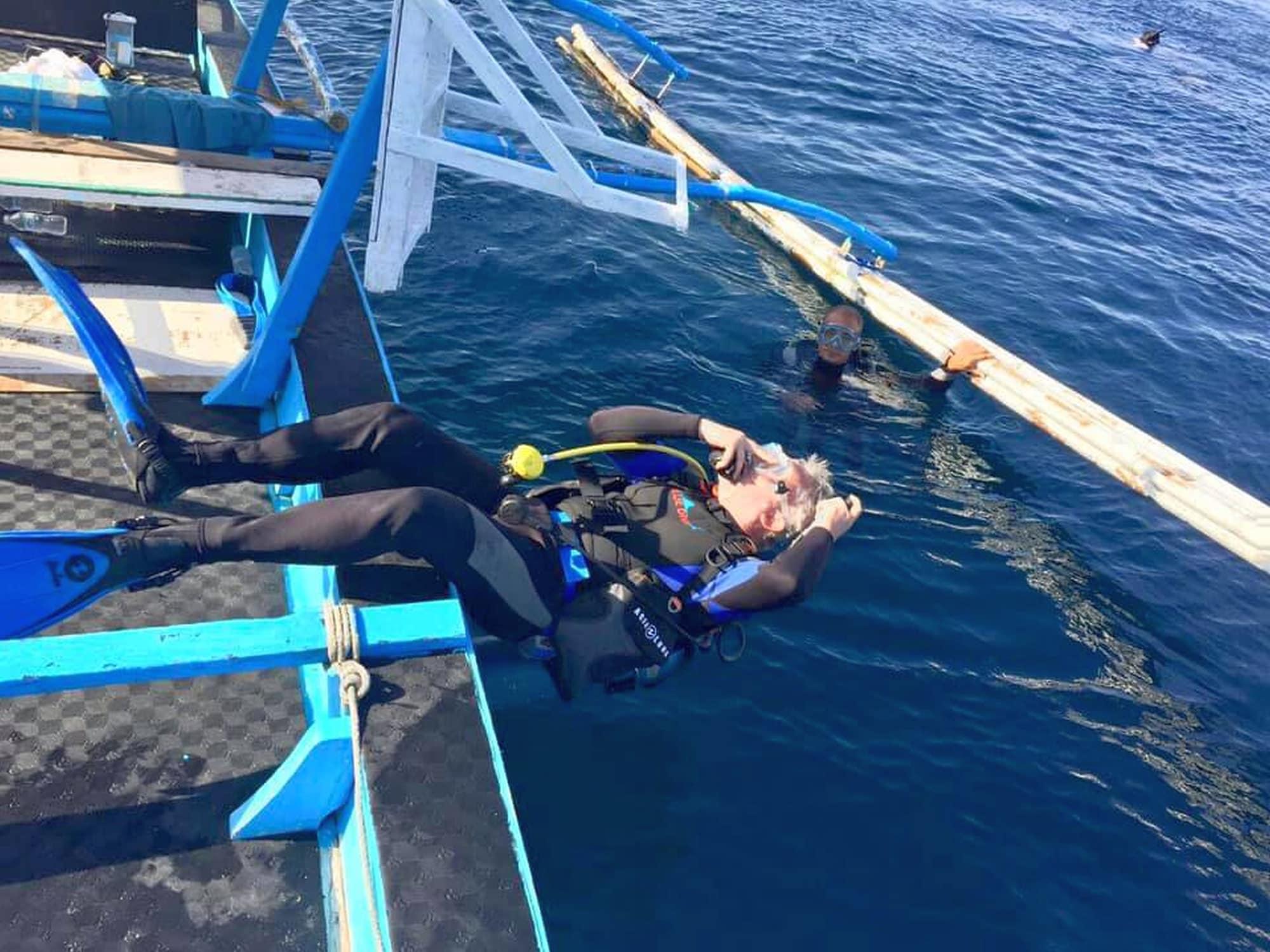 Bentrina Diving Resort, Mabini