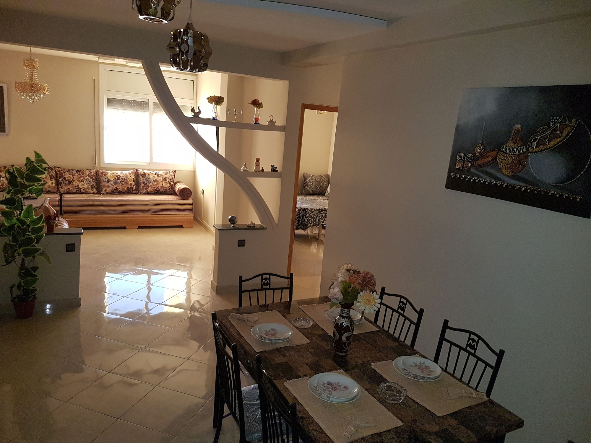 Appartement De Luxe 4 Chambres, Oujda Angad