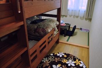 和室 3人部屋 二段ベッド付 共用バスルーム ルームA/B|Guest house HiDE