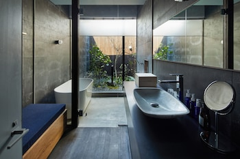 YADORU KYOTO DOKUTSU NO YADO Bathroom