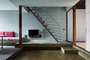 YADORU KYOTO DOKUTSU NO YADO Living Room