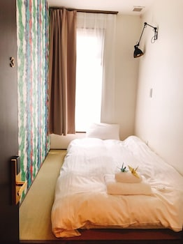 シングルルーム 共用バスルーム|4㎡|ホステル&パウダールーム クレイン - 女性専用