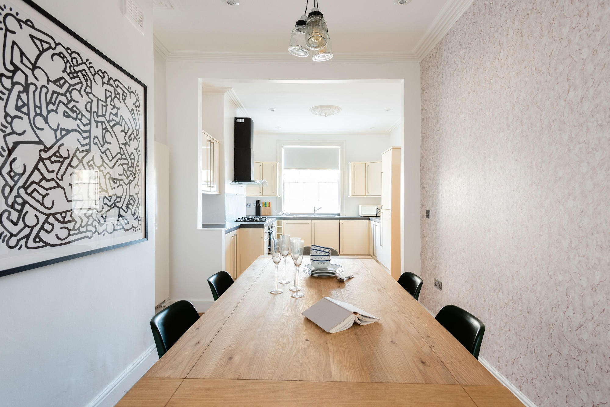 The Kings Row - Quiet & Modern 3bdr Near Kings Cross With Garden, London