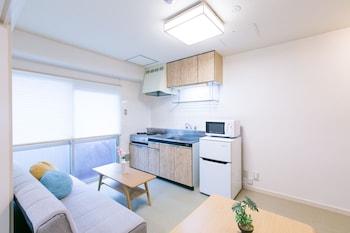 HIROSHIMA BASE HOTEL Living Area