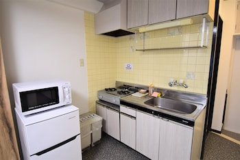 HIROSHIMA BASE HOTEL Private Kitchenette