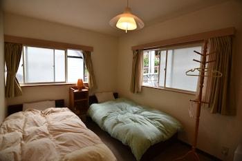 ツインルーム 共用バスルーム 谷川岳ラズベリーユースホステル