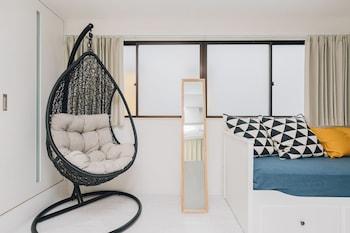 HIGOBASHI AFP LUXURY APARTMENT Living Room