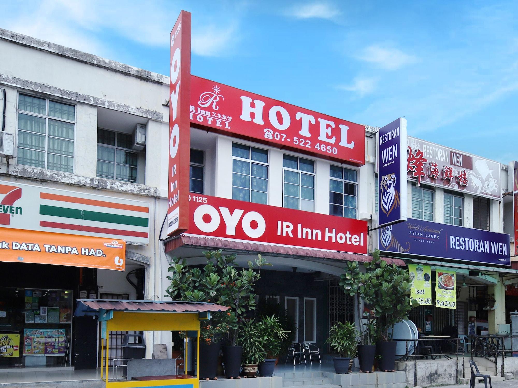 OYO 1125 IR Inn Hotel, Johor Bahru