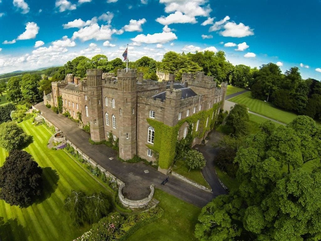 Balvaird Wing at Scone Palace, Perthshire and Kinross