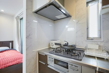 JAY AND LAN'S HIMAWARI HOUSE Private Kitchenette