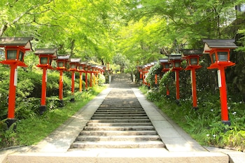 KYO NO ONDOKORO NISHIJIN VILLA #5 Land View from Property