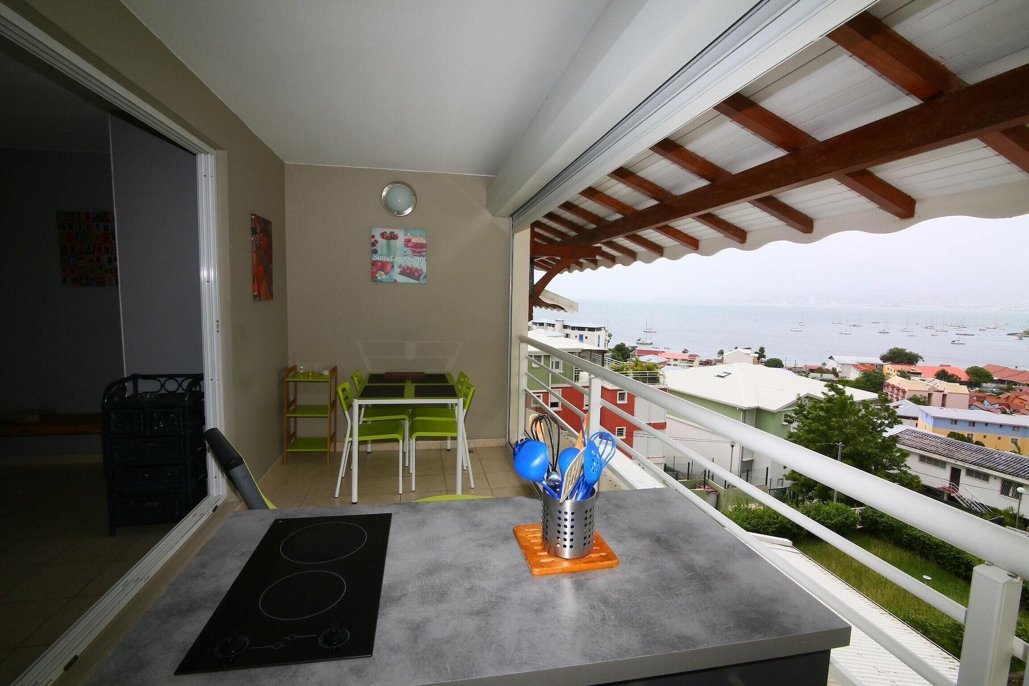 Apartment With one Bedroom in Les Trois-îlets, With Wonderful sea View, Furnished Terrace and Wifi - 300 m From the Beach, Les Trois-Îlets