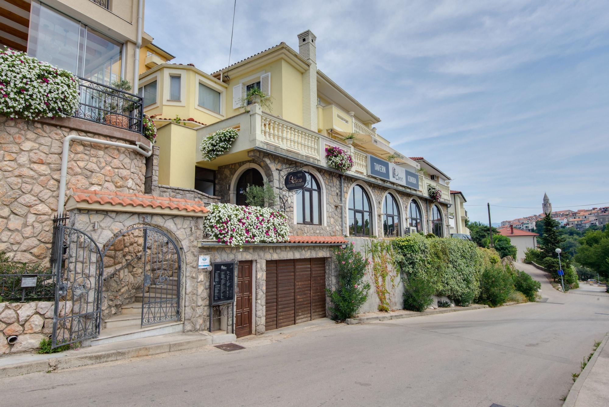 Luksuzne sobe Luce, Vrbnik