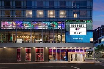波士頓市中心莫西飯店 Moxy Boston Downtown