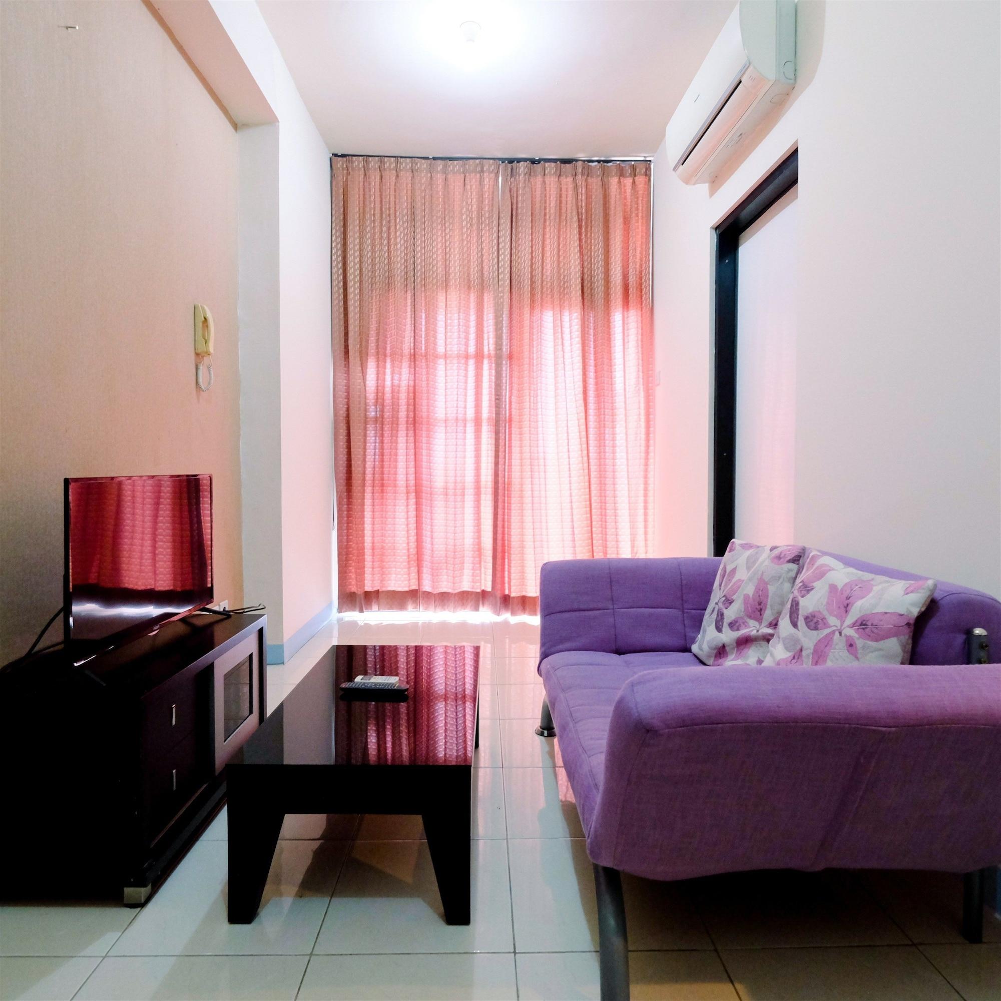 Homey Studio Apartment @ Salemba Residence, Jakarta Pusat