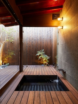 RINN NIJO CASTLE NORTH Outdoor Spa Tub