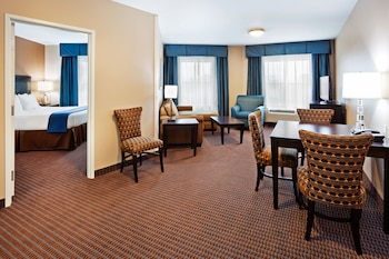Guestroom at Holiday Inn Express & Suites Mt. Pleasant in Mount Pleasant