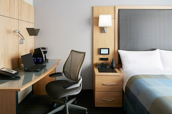 Guestroom at Club Quarters Hotel, World Trade Center in New York