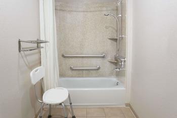 Super 8 by Wyndham Rosenberg TX - Bathroom  - #0
